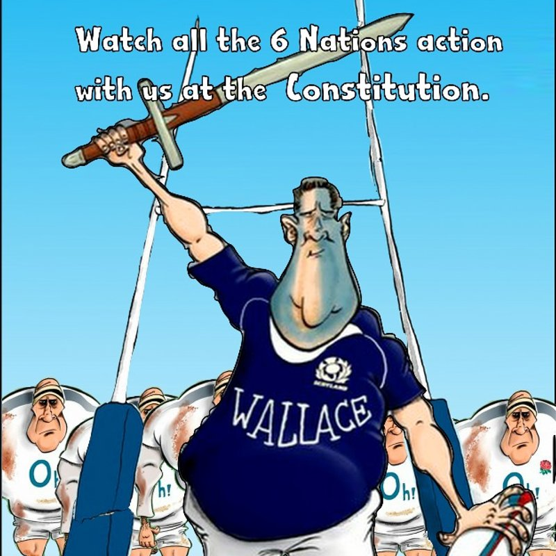 Trinity @ Constitution Bar for Saturdays 6 nations