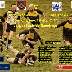 Trinity 36 v Leith 12  01-04-17