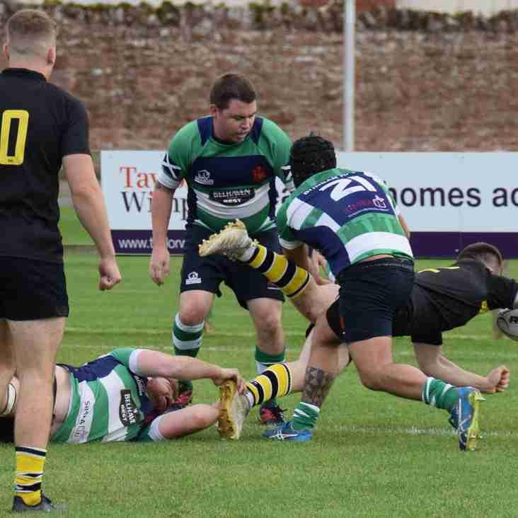 Links to Saturdays match report on Dunbar RFC's website & Trinity Accies photos