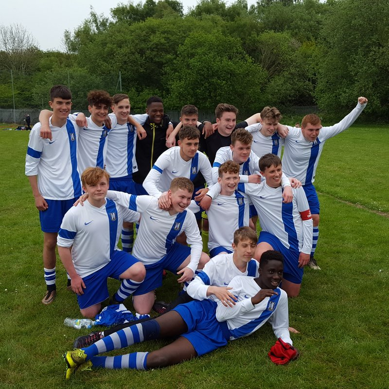 Under 16's SDYFL beat Enville Athletic 0 - 6