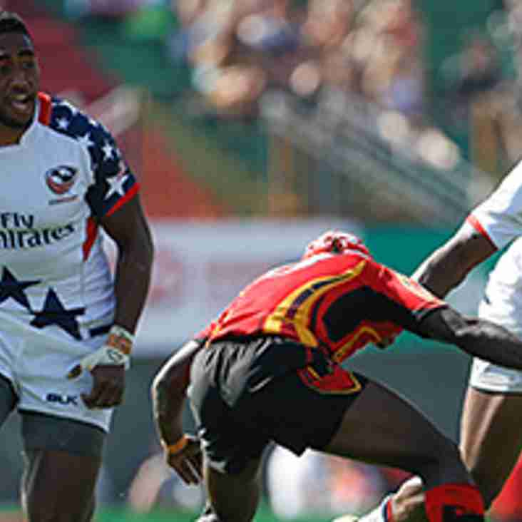 Emirates Dubai Rugby 7s  2017 with Travelbag