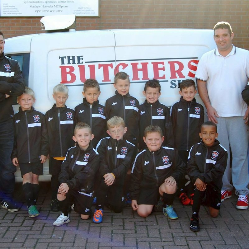Sponsorship - GTT U7S Blacks Sponsorship