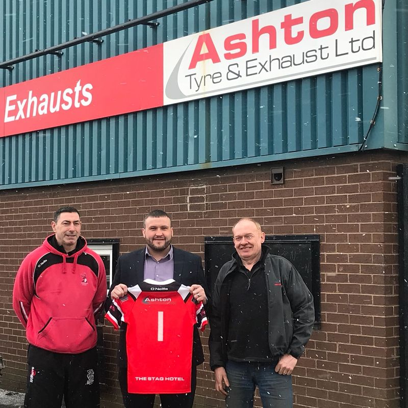Ashton Tyre and Exhausts to sponsor Garswood International Representative
