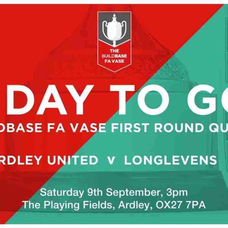 MATCH PREVIEW | Ardley in the FA Vase
