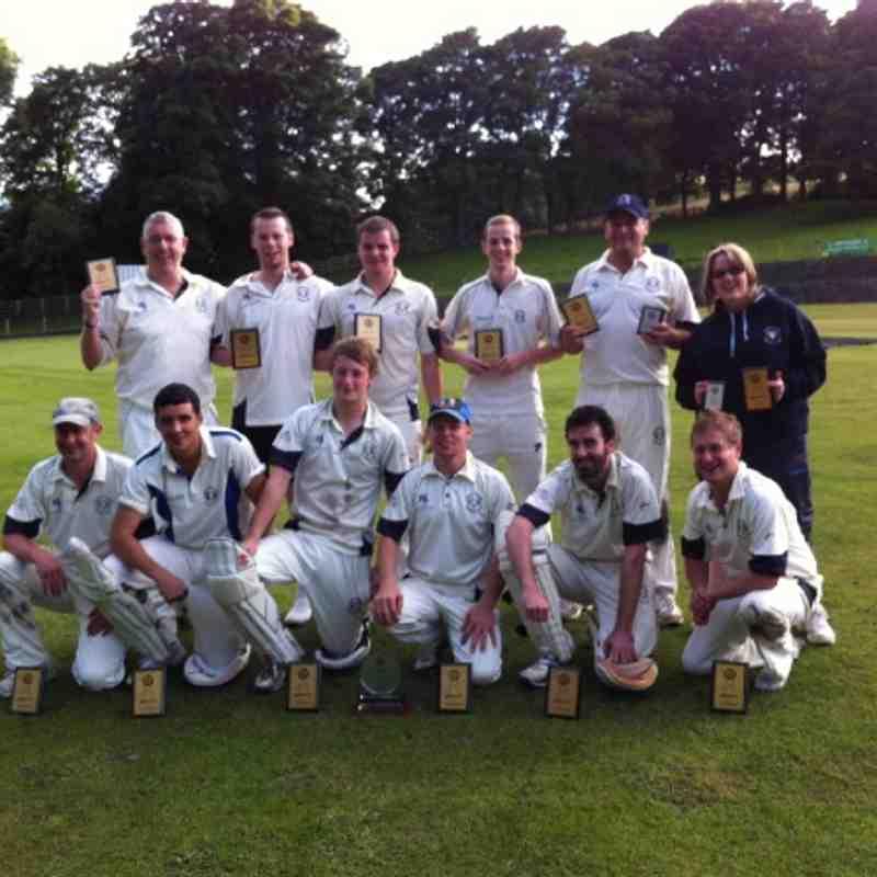 Southowram CC win the 20/20 final