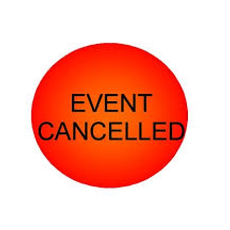 ***Session Cancelled*** - Monday 28th May 2018