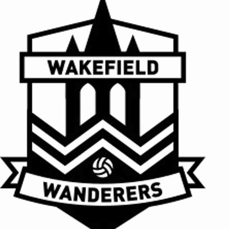 WAKEFIELD WANDERERS - TEAM MANAGERS' UPDATE - January 2018