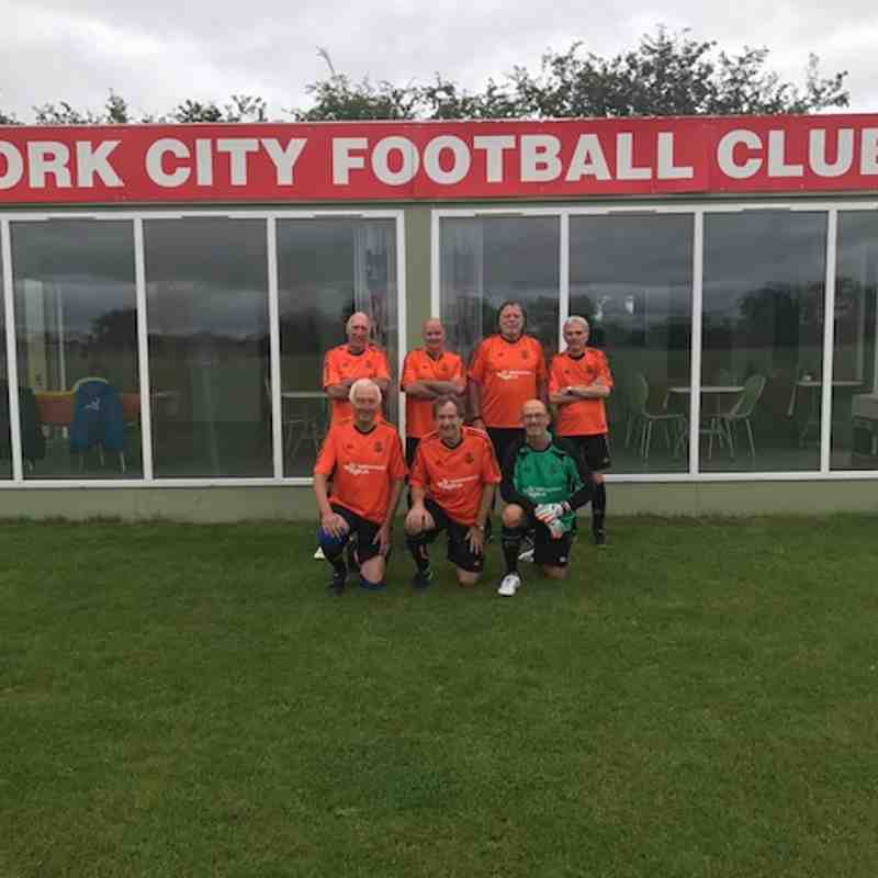 York City FC 65+ Tournament - July 2017
