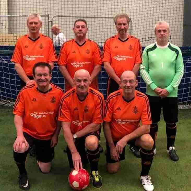 Wigan Walkers F.C. 60+ Tournament - Wigan Soccerdome - 9th November 2017