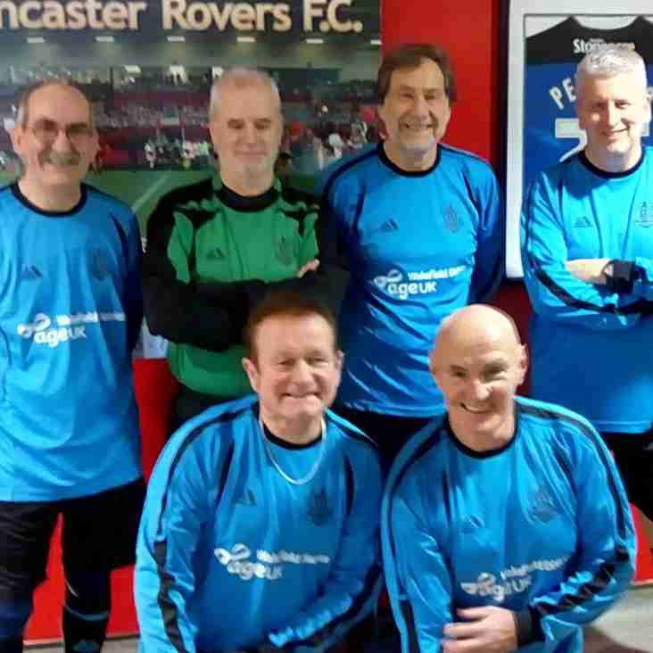 SY 60+ League 2017/18 - Month 2 - Doncaster - 20th December 2017