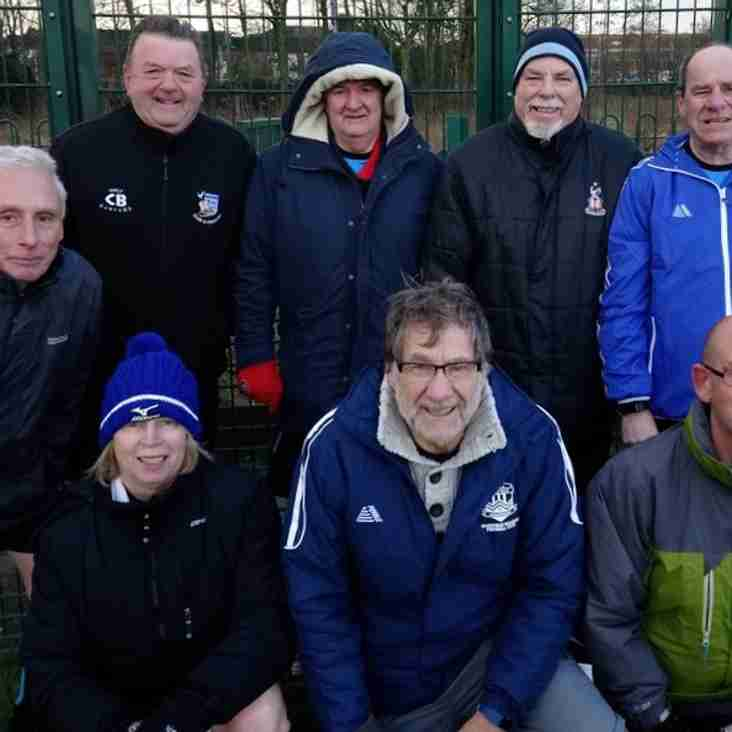 GMWF 65+ League - Match Day 1 - 15th February 2018