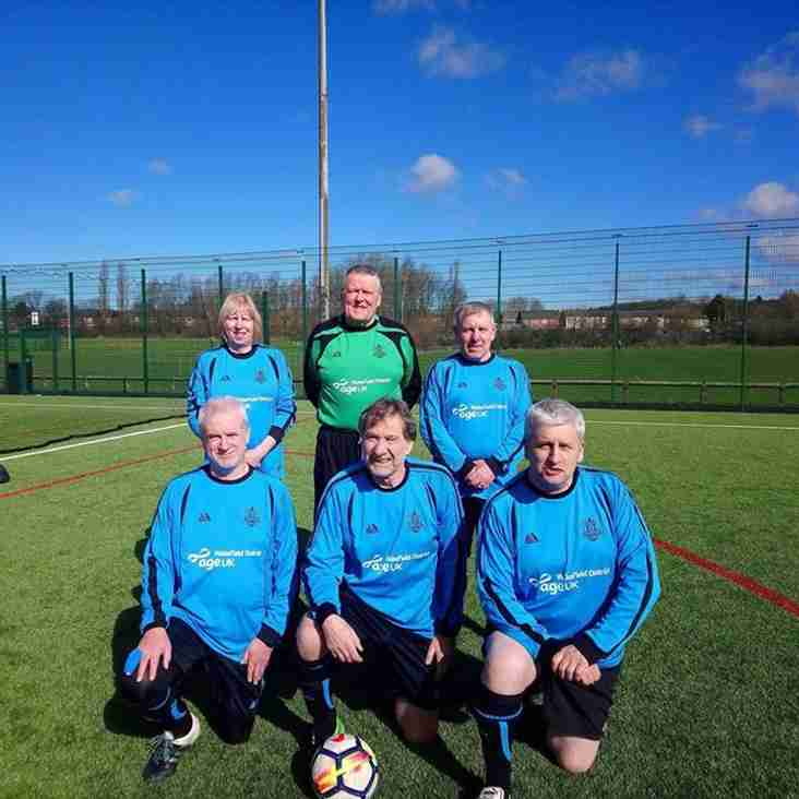 GMWF 60+ League - Match Day 2 - 5th April 2018