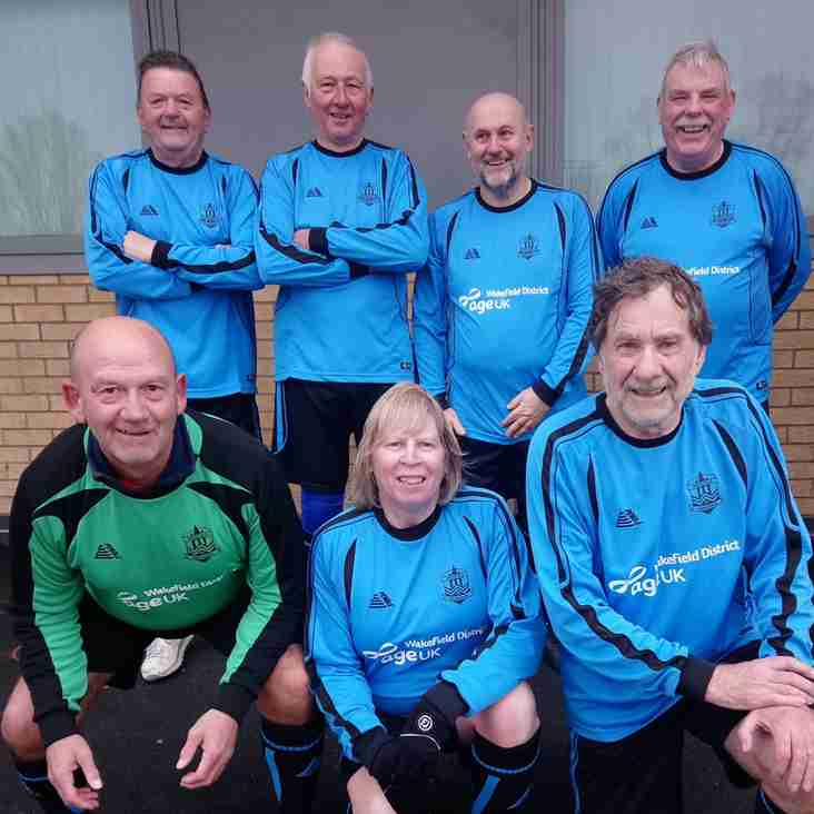 GMWF 65+ League - Match Day 3 - 12th April 2018