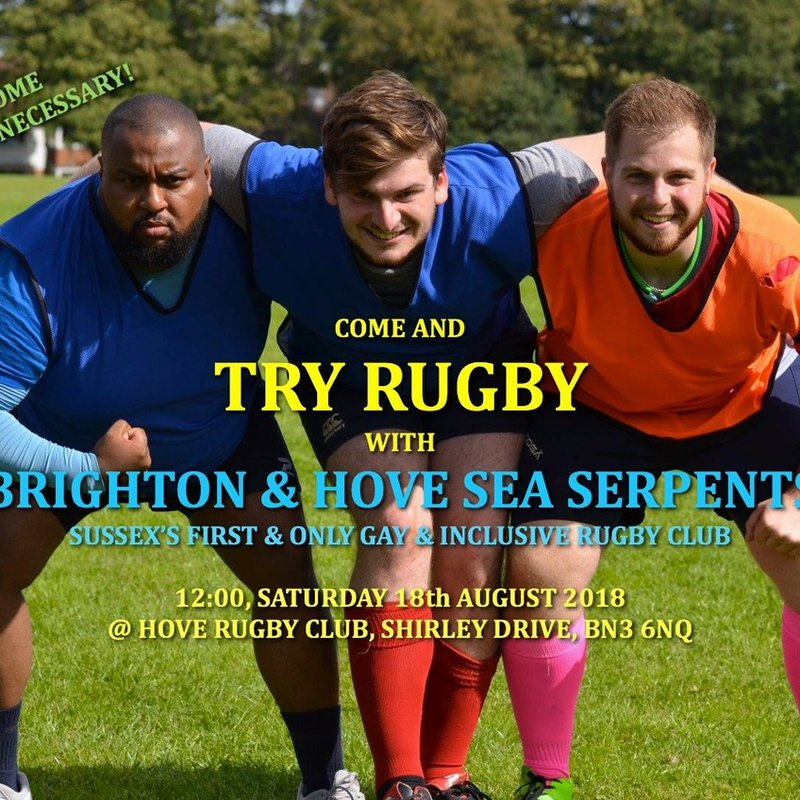 Try Rugby with the Sea Serpents