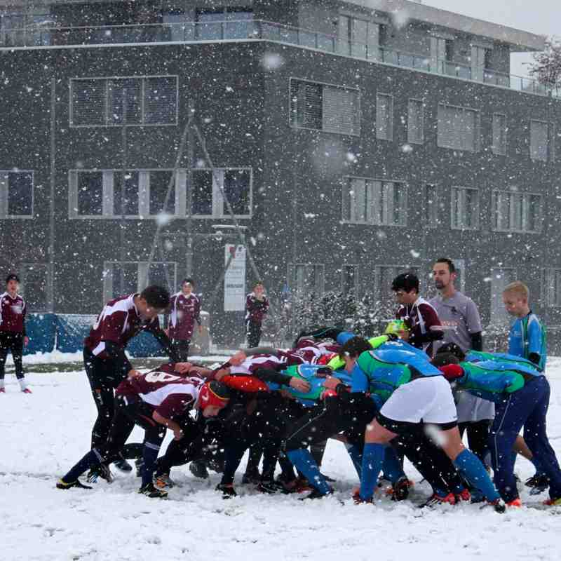 U16 vs Zurich @ISZL 28 Nov 2015