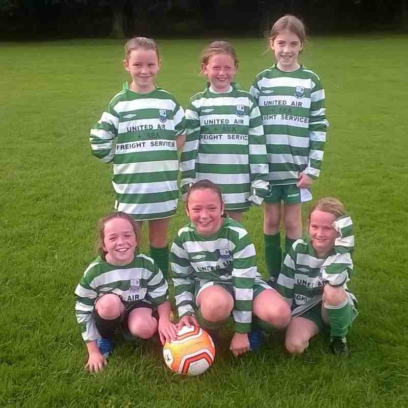 U10's Girls Green - Away to Raheny