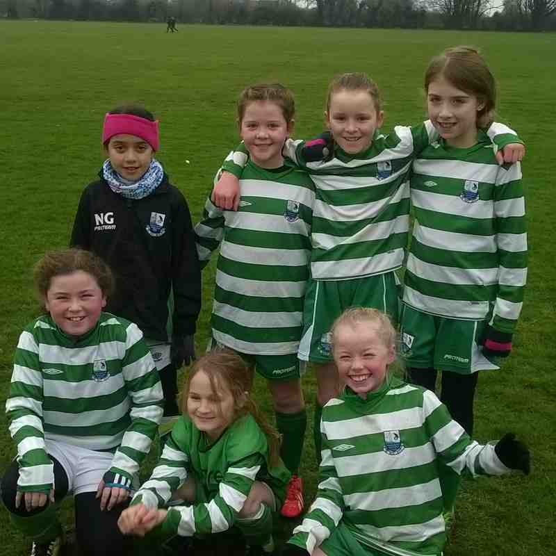 U10's Girls - Green