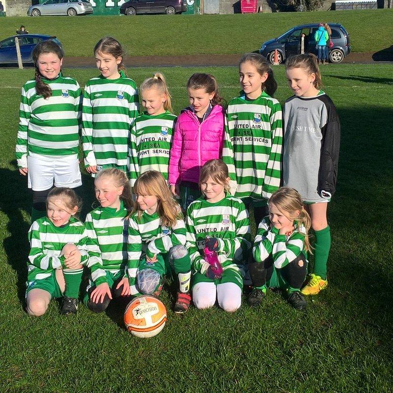 Girls U10 Green -  Phil lose to Kilnamanagh 0 - 3