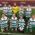 Girls U12 - Phil & Morgan lose to Maynooth Town 1 - 4