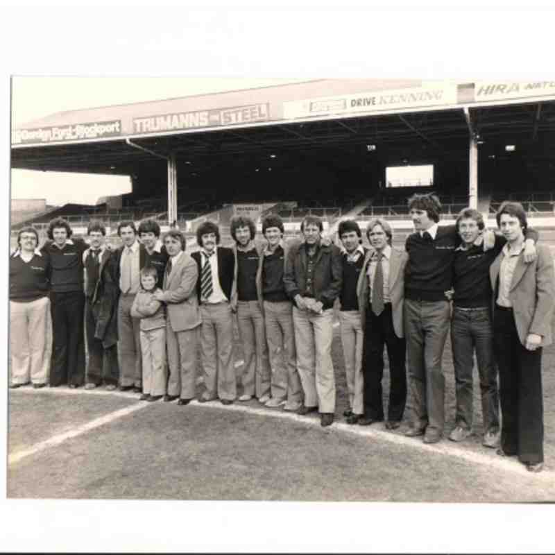 Lancaster City Team Photos from around 1980