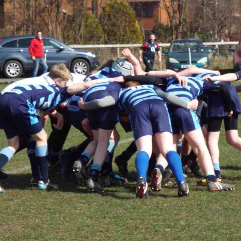 U13's Shrewsbury (H) 22-03-2015