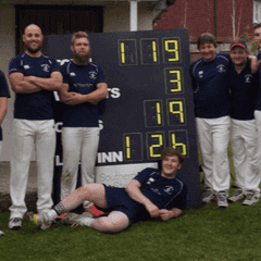 A good win at cricket against the Lord Toads