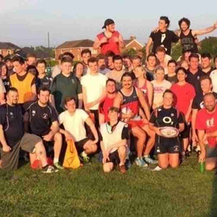 Summer touch rugby programme