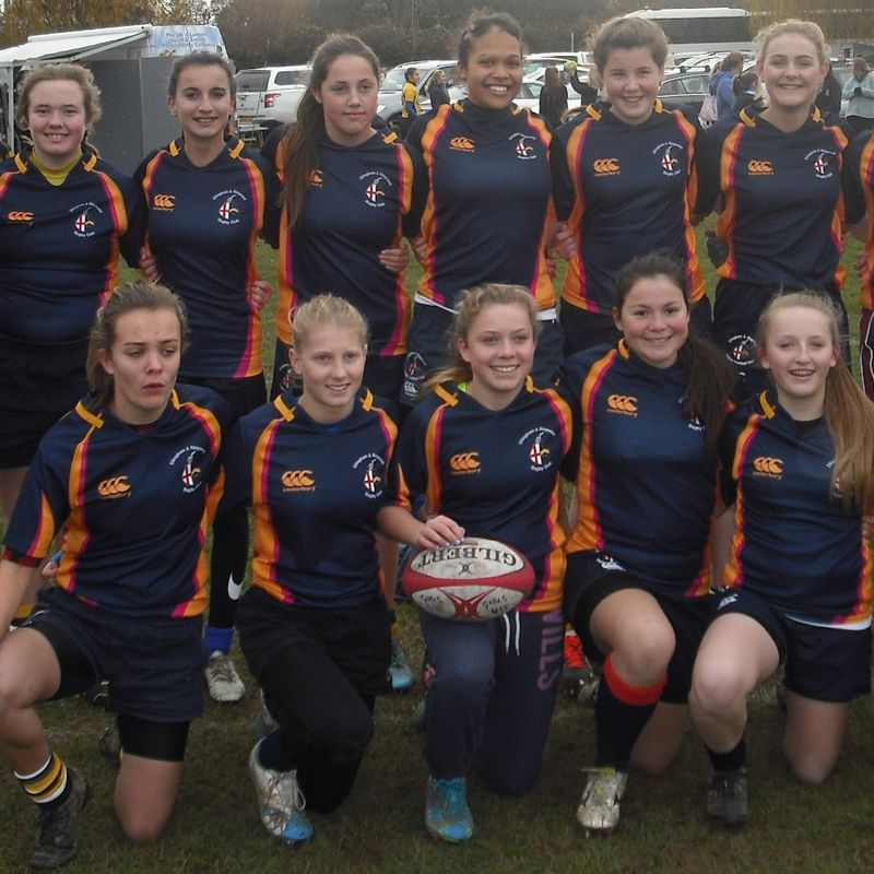 Under 15's Girls lose to Oakmeadians 5 - 55