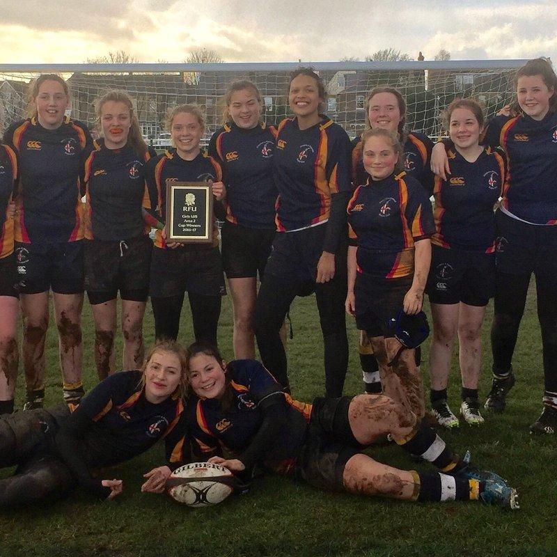 Under 15's Girls lose to Towcestrians 56 - 14