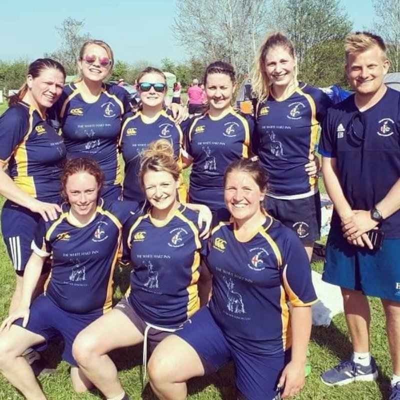Our women win the Lytchett 7's in some style