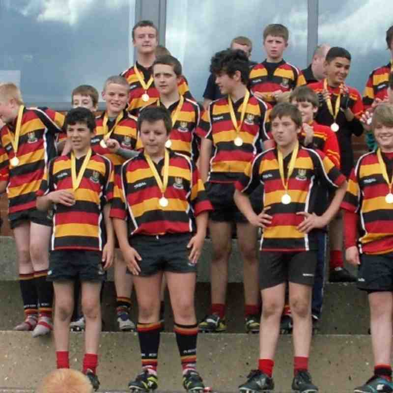 Ashton U13's Win Rugby 7's Bob Simpson Memorial Trophy