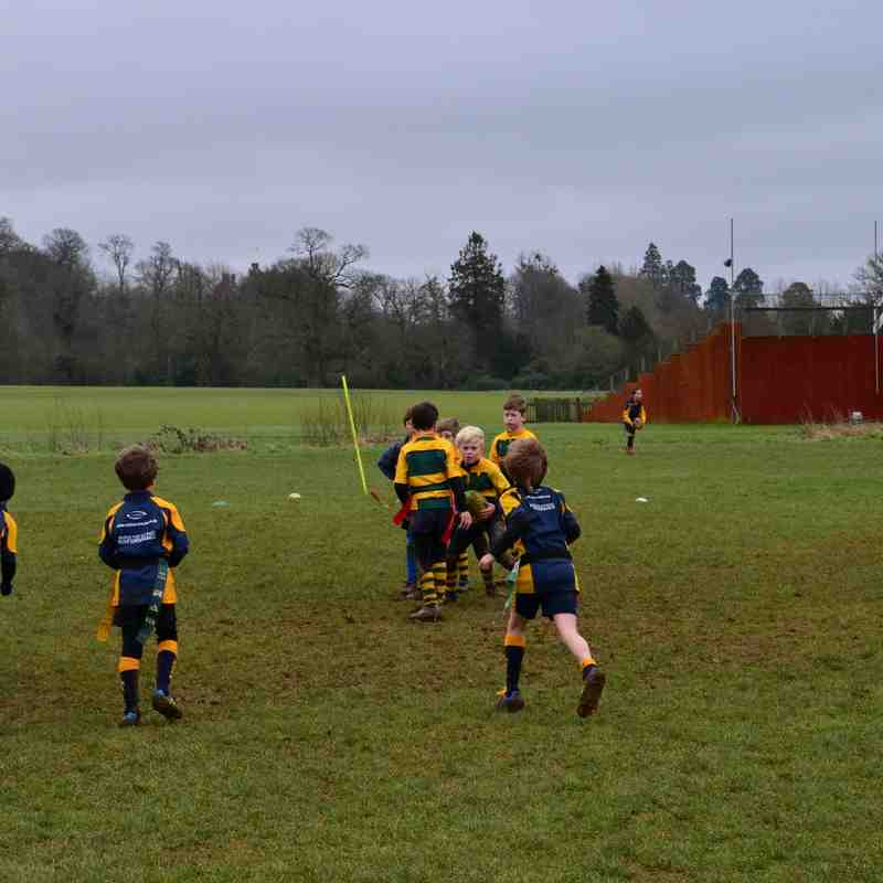 U8's away at Midhurst 22/2/16