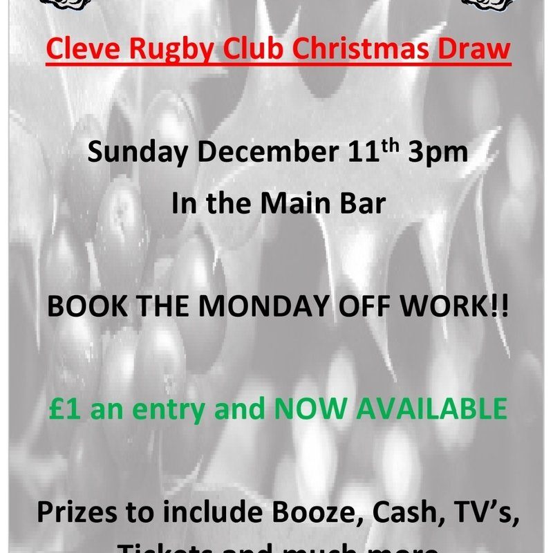 Club Christmas Draw