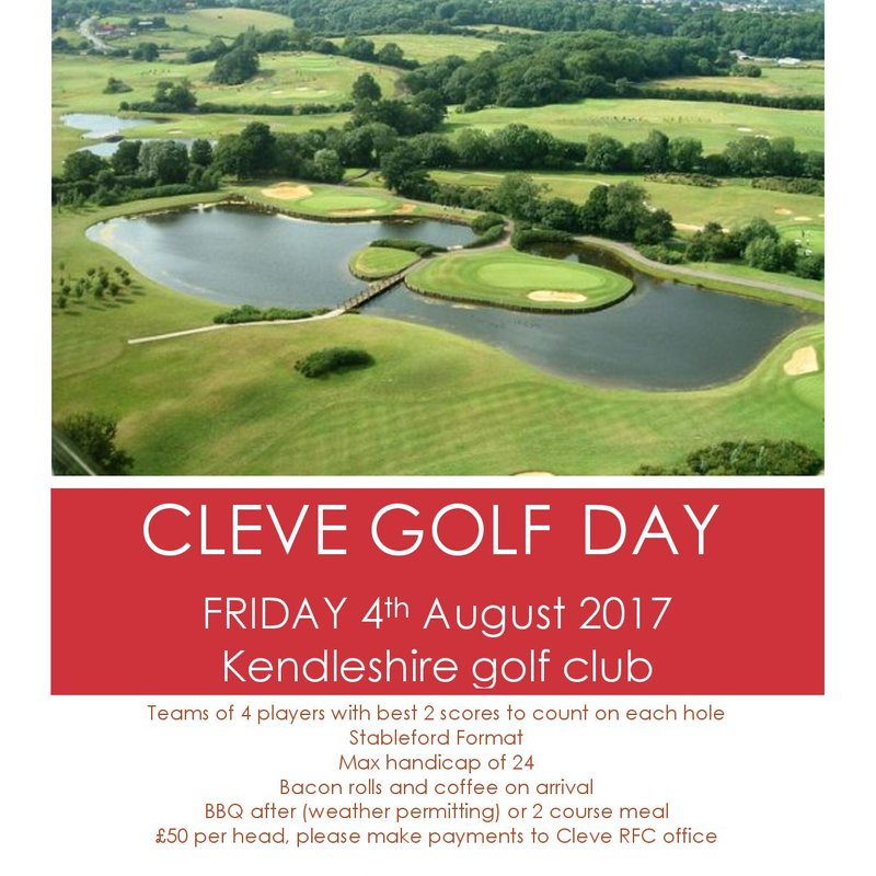 Cleve Golf Day