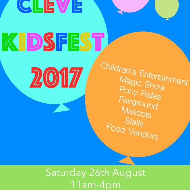 Cleve KidsFest 2017!
