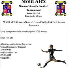 Mold Alex Ladies Tournament