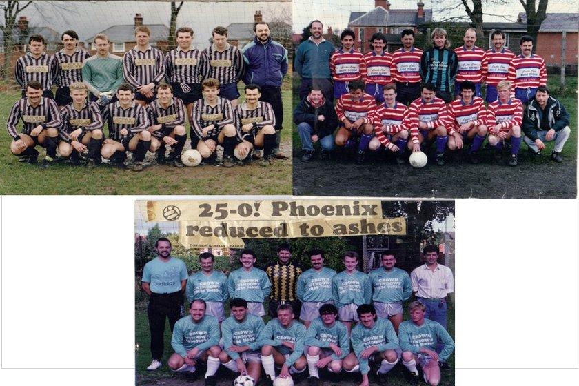 Sunday League Football Reunion