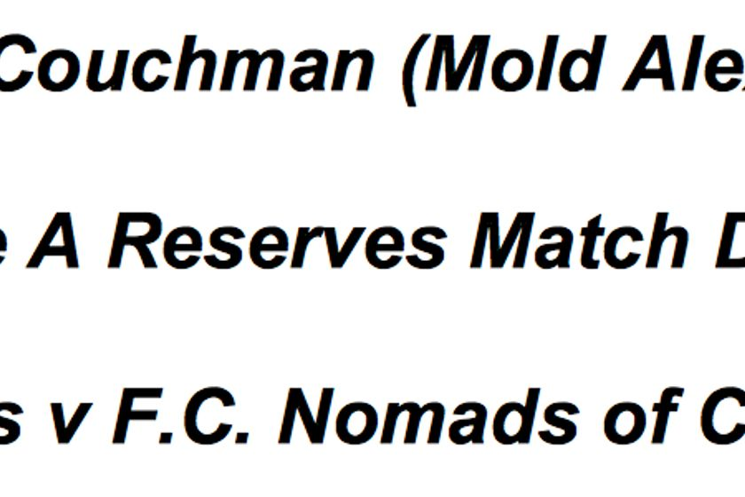 Mold Alexandra vs. FC Nomads
