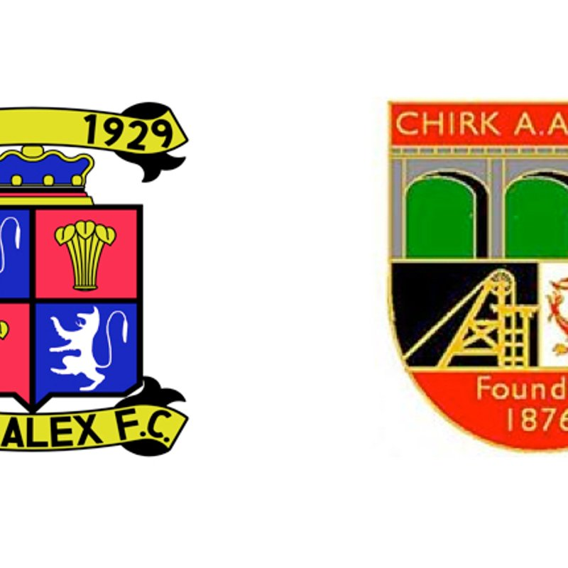 1st Team beat Chirk AAA 2 - 0