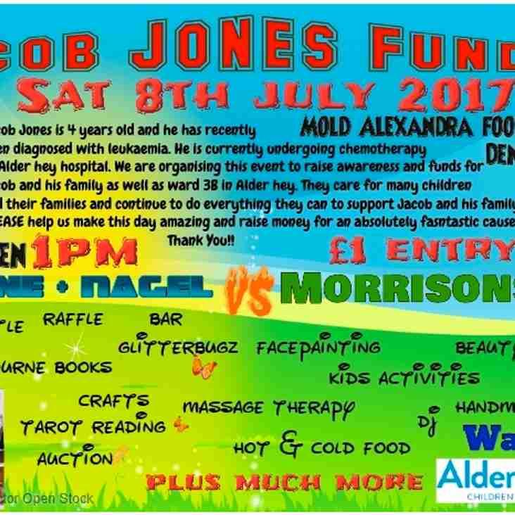 Jacob Jones Football Match and Funday