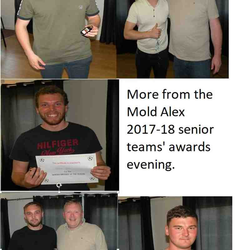 2017 - 18 End Of Season Presentation Night