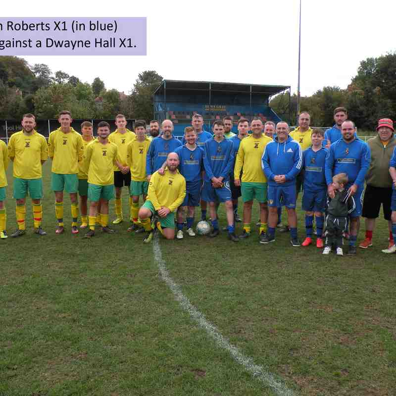 Ann 'Froggy' Roberts - Charity Football Match
