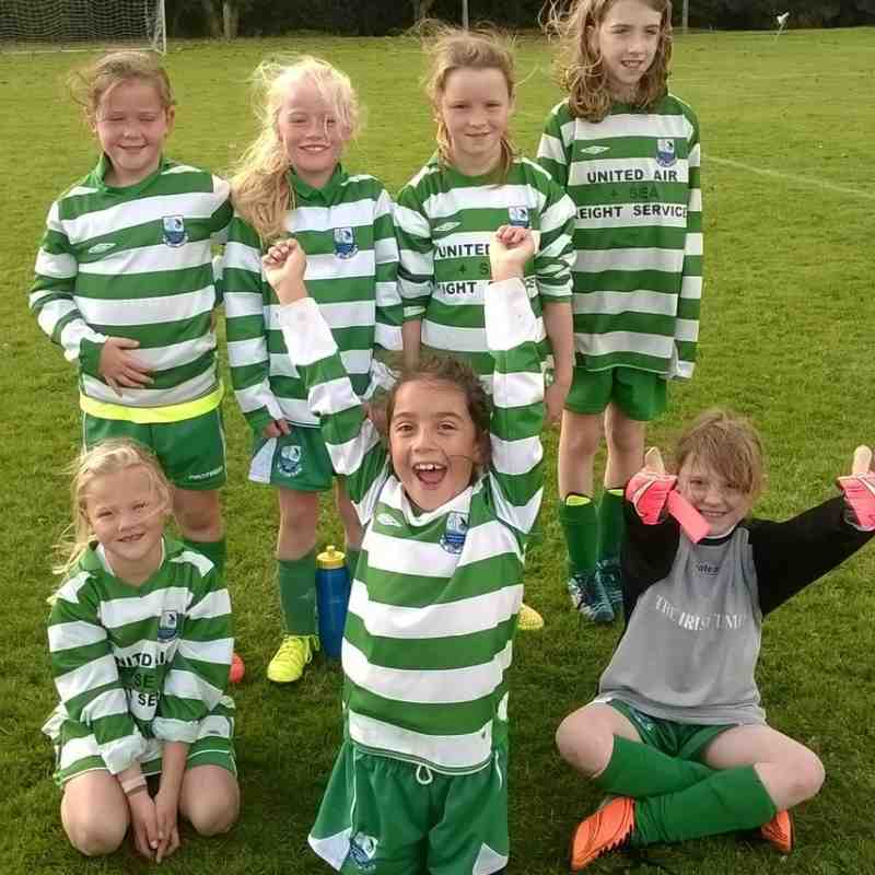 U10 Girls Vs. Baldoyle - Great match!