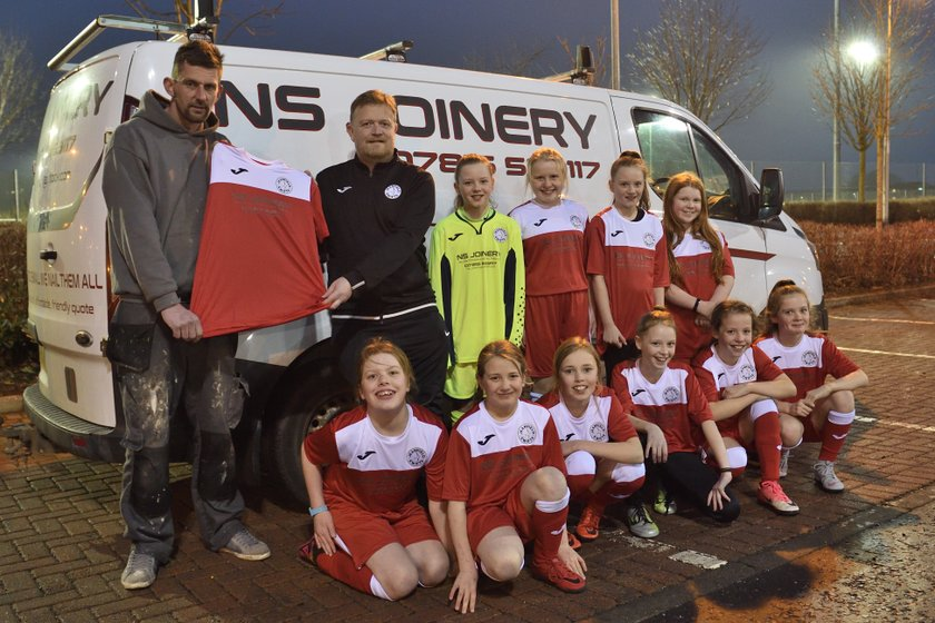 New kit sponsor for U12 Girls