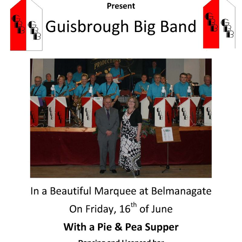 Guisborough Big Band - Friday 16th June
