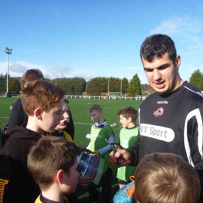 Edinburgh Rugby Camp February 2015