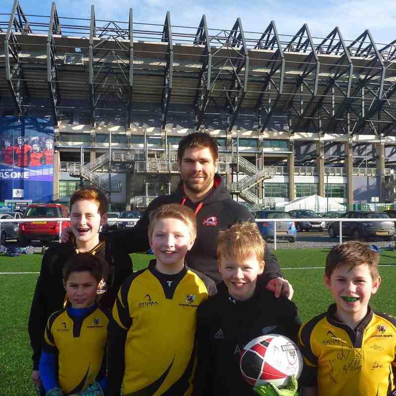 Edinburgh Rugby Camp February 2015