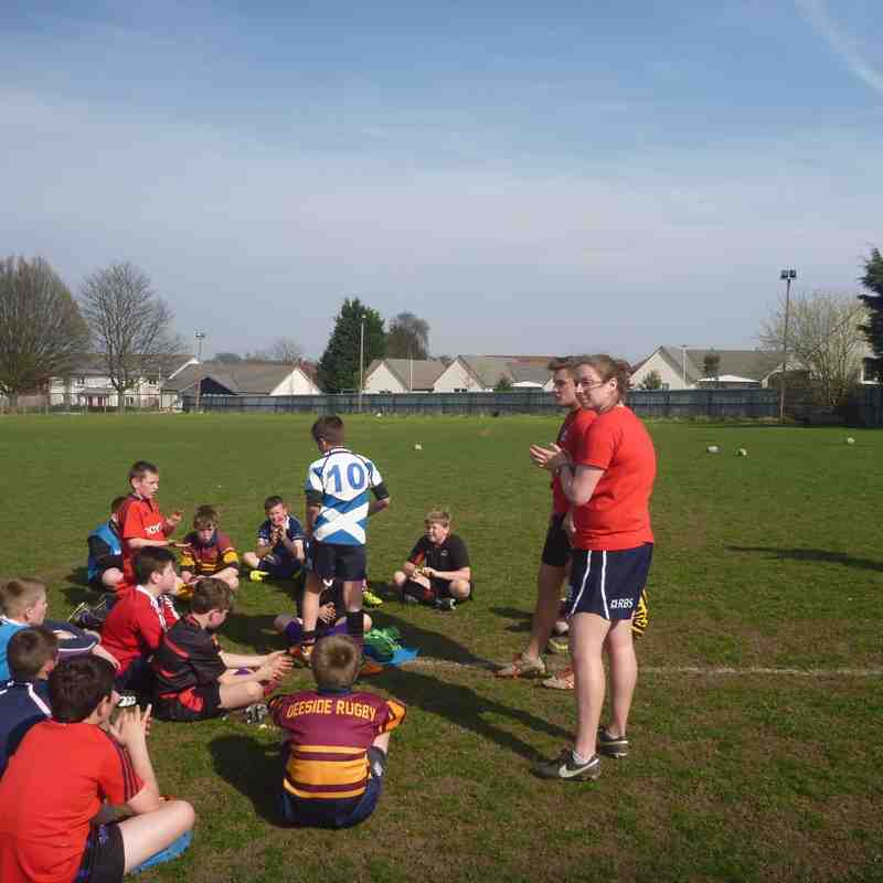 Edinburgh Rugby Camp at Dundee Wasps