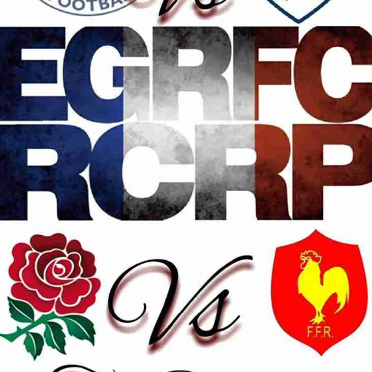 EGRFC Welcomes French Side for Re Match!