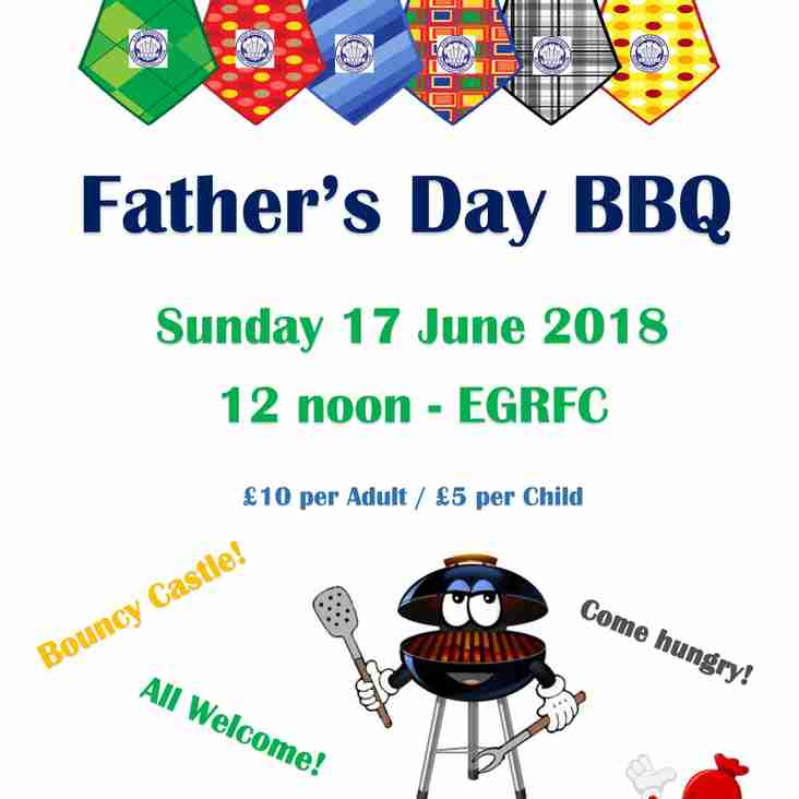 Family Father's Day - Bar, BBQ & Bouncy Castle!